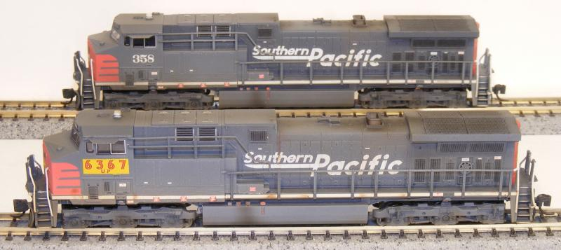 Here we have a n scale f59 for metra chicago